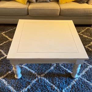 Coffee Table, square, solid wood for Sale in Sun City, AZ