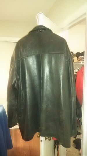 Men's leather jacket 3x for Sale in Cuba, MO