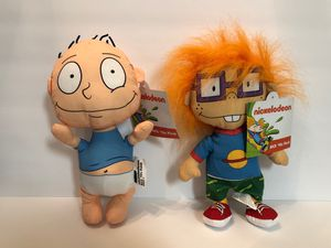 """The Rugrats Tommy & Chuckie 10"""" Plush Nickelodeon 90's Plush for Sale in Las Vegas, NV"""