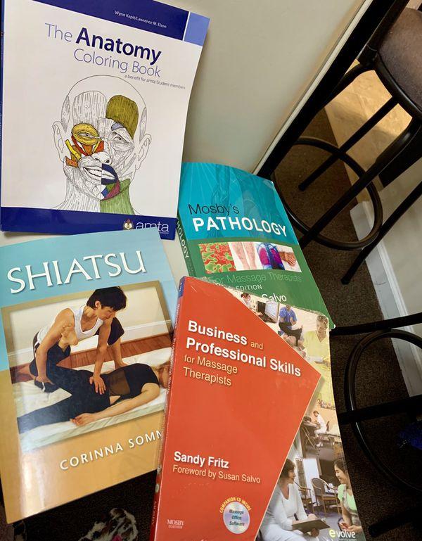 Books for massage therapist