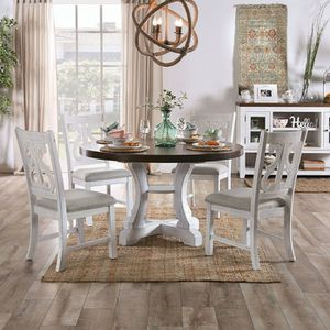 Round Dining Table AULETTA F.O.A Brand New for Sale in Fresno, CA