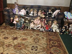 Porcelain dolls for Sale in Toomsuba, MS