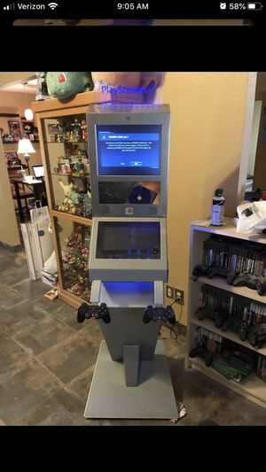 Playstation 2 PS2 video game kiosk for Sale in Chandler, AZ