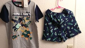 Boys new pjs size 8/9 a set for $6.00 for Sale in Minot, ND