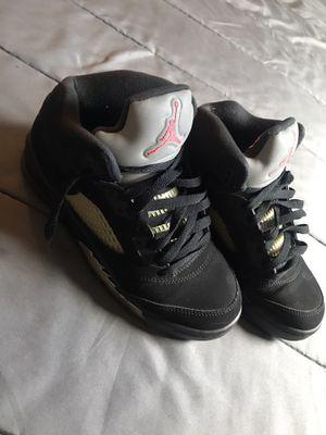Metallic Air Jordan 5s for Sale in Columbus, OH