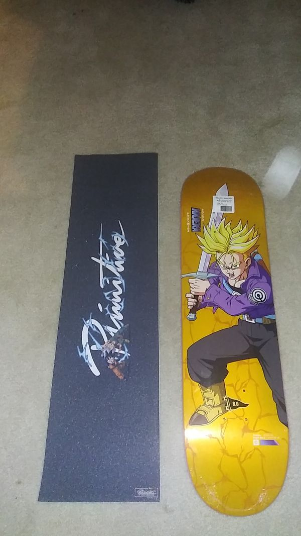 Primitive x dragon ball z DBZ NAJERA SS TRUNKS DECK - SUPER SAIYAN TRUNKS