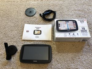 TomTom Go 60 Navigation GPS with lifetime traffic and maps + 32GB MicroSD for Sale in Orlando, FL