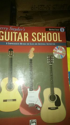 Guitar School book by jerry snyder method book 1 for Sale in Modesto, CA