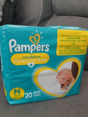 Pampers for newborns for Sale in Las Vegas, NV