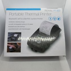 Royal WiFi Enabled Remote Thermal Printer PT-300 for Sale in The Bronx,  NY