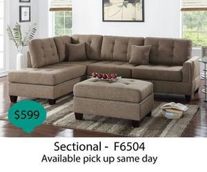 Sectional sofa ( available pick up same day ) for Sale in Anaheim, CA