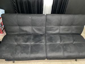 Black futon bed for 125.00 or best offer for Sale in Delano, CA