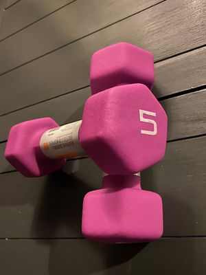 Weight set 5 lbs for Sale in San Diego, CA