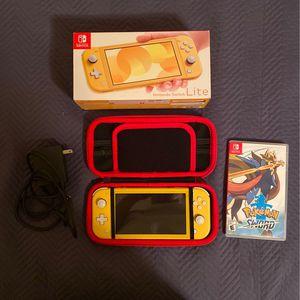Nintendo Switch Lite + Pokémon Sword for Sale in Anaheim, CA