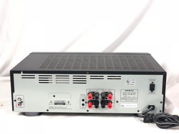 Onkyo M-501 Discrete Output Stage Stereo Power Amplifier