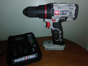 PORTER CABLE 20V DRILL + CHARGER $20 (no battery) for Sale in Edmonds, WA