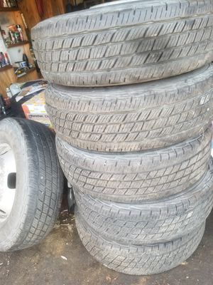 17 inch tires with rims ford f350 for Sale in Stanton, CA