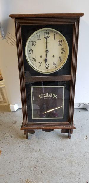 Antique Regulator (Medium) Windup Wall Clock for Sale in Portland, OR