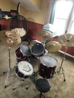 PEARL Forum Series 5pc Drum Set *NO HI-HAT* for Sale in Pinole, CA