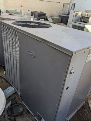 2012 Carrier 3.5 Ton AC Package Unit Heat Pump Fully charged with R410a refrigerant for Sale in Tempe, AZ