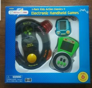 3 Pack Kids Action Classics II Electronic Handheld Games for Sale in Marietta, GA