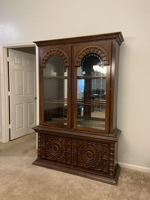 China cabinet antique for Sale in West Palm Beach, FL