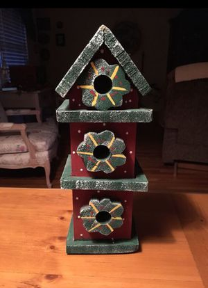 Birdhouse- Handmade Wood - **NEW** for Sale in West Covina, CA