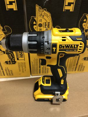 "Dewalt 1/2"" XR Hummer Drill/Drill Driver With 2.0ah battery for Sale in Laurel, MD"