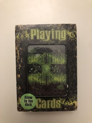 Disneyland haunted mansion playing cards for Sale in Seattle, WA