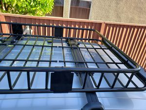 Roof cargo rack basket for Sale in Pinole, CA
