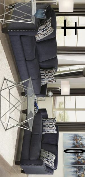 Brand New and Best Offer Creeal Heights Ink Living Room Set # for Sale in Houston, TX