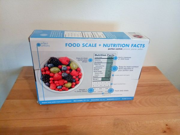 Greater Good Nourish Digital Kitchen Food Scale and Portionsnutritional facts
