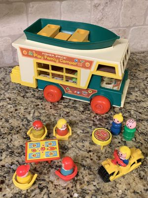 1972 Vintage Fisher-Price Play Family Camper for Sale in Glendale, AZ