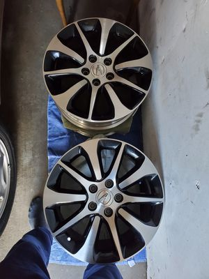 17 inch original OEM Acura rims with all the bolts for Sale in Sacramento, CA
