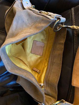 Coach purse tan and beige for Sale in Huntington Beach, CA
