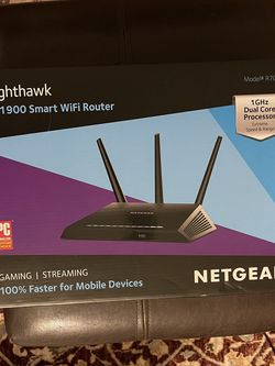 NETGEAR Nighthawk AC1900 Smart WiFi Router for Sale in San Francisco,  CA