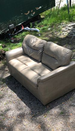 Good condition couch w/ pull out bed for Sale in Dedham,  MA