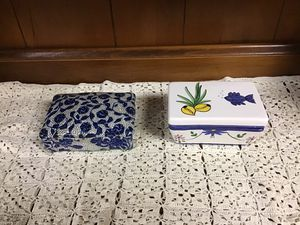 Ceramic Boxes, $5 each for Sale in Madison, WI