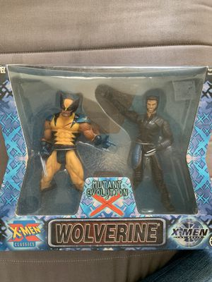 Wolverine Mutant Evolution of X Twin Pack action Figure set NIB for Sale in Pittsburgh, PA