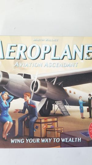 Aeroplanes aviation ascent board game for Sale in Sherwood, OR