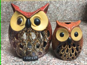 Owl home decor for Sale in Los Angeles, CA