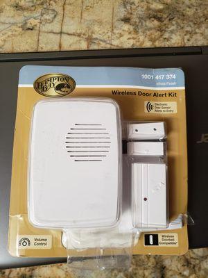 Hampton Bay Wireless Door Alert Kit for Sale in Fresno, CA
