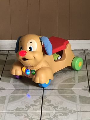 LIKE NEW FISHER PRICE BABY PUSH CAR for Sale in Riverside, CA