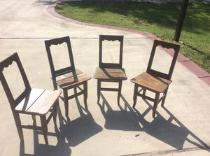 Antique school chairs for Sale in Houston, TX