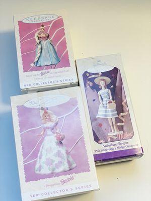Hallmark Barbie ornaments for Sale in Graham, WA