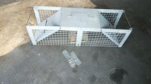 Galvanized Animal Trap for Sale for sale  Woodbridge Township, NJ