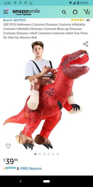 Halloween dinosaur costume for Sale in Hillsboro, OR