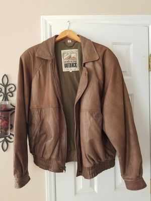 Brown Leather Jacket for Sale in Raleigh, NC