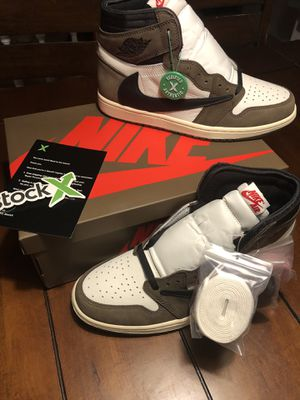 Jordan Retro 1 Travis Scott for Sale in Brandon, MS