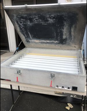 Ryonet X factor exposure unit screen printing for Sale in Menifee, CA